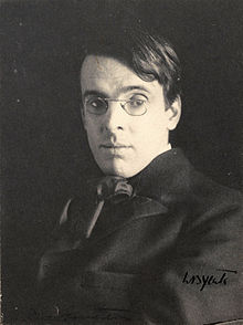 Yeats as a young man