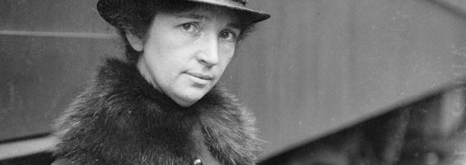 Margaret Sanger:  Social Progress and the Very Long Road