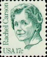 Rachel Carson postage stamp