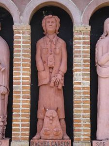 Rachel Carson statue In Nono, Argentina